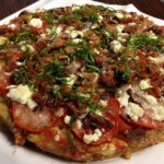 No-Bread Meatza (Hamburger Pizza)