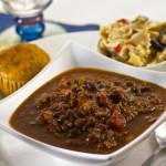 Faith's Favorite Slow-Cooker Turkey Chili with Dark Chocolate