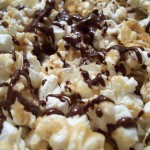Homemade Choco-Drizzled Popcorn