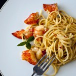 Truffle Butter Lobster with Linguine
