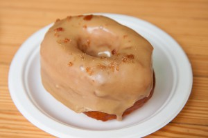 Maple Miso Doughnut