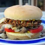 Faith's Grilled Indian Veggie Burgers