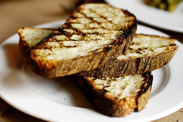 Toppings for Grilled Bread Are a Breeze · Faith Middleton's Food ...