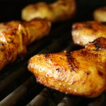 Spicy Grilled Chicken Wings with Lemon and Garlic