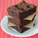 Paleo Flourless Dark Chocolate Brownies