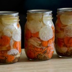 Daikon and Carrot Pickle for Bánh Mì