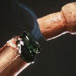 Be Very Careful of Exploding Champagne Corks