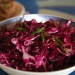 Citrusy Red Cabbage Pickle for Bánh Mì