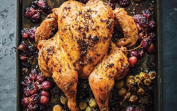 Melissa Clark_Dinner_Chicken with Grapes recipe