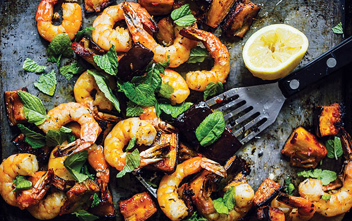 Melissa Clark_Dinner_Spicy Roasted Shrimp recipe