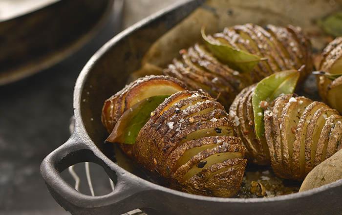 Raghavan Iyer_Hasselback Potatoes recipe