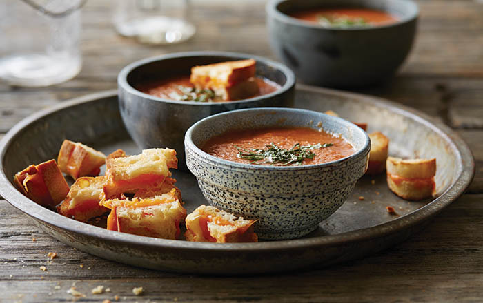 Soup Swap_Tomato Soup with Grilled Cheese-Croutons_
