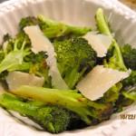 Thanksgiving Special: Crispy Lemon Broccoli with Shaved Parmesean
