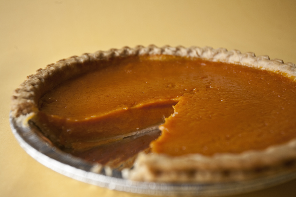 Pumpkin Pie with Brown Sugar-Walnut Topping · Faith Middleton's Food ...