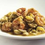 Orecchiette with Shrimp, Rosemary, and Green Olives