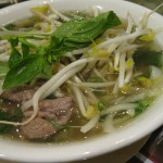 Light Asian Soup with Beef, Chicken or Shrimp