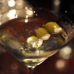 Five-Star Dirty Vodka Martini