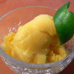 Mexican Mango Ice, Straight from the Freezer