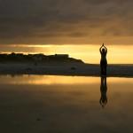 Yoga at Chamard Vineyard