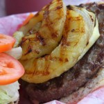 Faith's Grilled Asian-Spiced Pork & Pineapple Burger