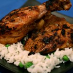 Tantalizing Grilled Tandoori Chicken with Cooling Mint-Yogurt Sauce