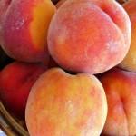 Buttery Peach-Gingersnap Crisp