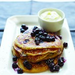 BRUNCH: SENSATIONAL LEMON-BLUEBERRY RICOTTA PANCAKES (MADE IN A BLENDER!)