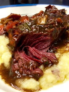 Lidia Bastianch's Beef in Barolo Wine recipe