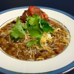 Chris Prosperi's vegetarian chili recipe