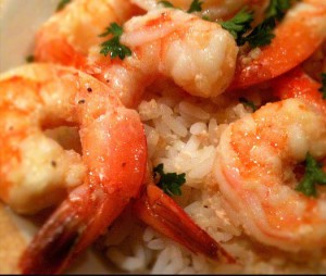 Quick weeknight shrimp and rice. Photo credit: Keith Jenkins, Flickr, creative commons