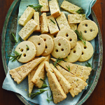 Rosemary Cornmeal Shortbread