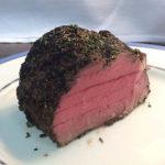 Herb-Crusted Grilled Beef Tenderloin
