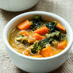Quinoa and Sweet Potato Soup