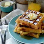 Lazy Weekend Yeasted Waffles