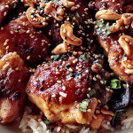 Spicy, Garlicky Cashew Chicken