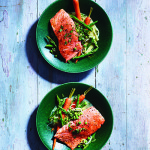 Slow-Cooked Salmon with Spring Vegetables