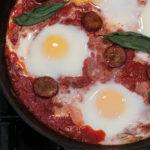 World's Easiest Italian Baked Eggs For Brunch
