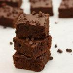 Bittersweet Bean Brownies