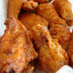 Sweet and Spicy Korean Fried Chicken Wings