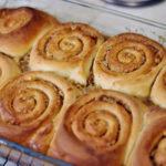 Sugar-Glazed Cinnamon Rolls