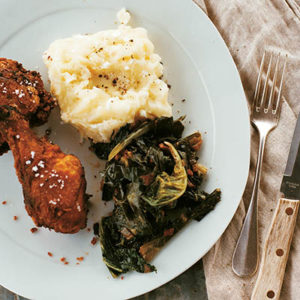 fried chicken recipe from Mad Hungry: Feeding Men & Boys by Lucinda Scala Quinn (Artisan Books). Copyright © 2009. Photographs by Mikkel Vang.