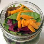Picnic Salad in a Jar + A Simple Vinaigrette Hack Using Jam