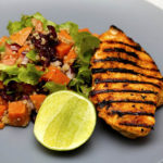 Easy Grilled Peanut Butter-Soy Chicken