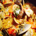 Chorizo with Clams and Rice