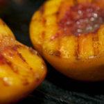 Grill Peaches & Wrap with Prosciutto
