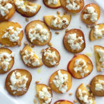 peaches with goat cheese honey recipe_recipe