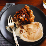 Bacon Maple Walnut Pie with Malt Frozen Custard_Eric Medsker_recipe