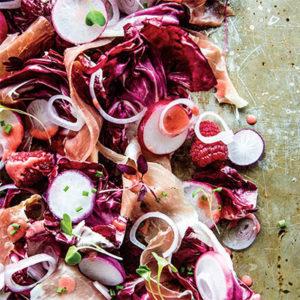 Pure Delicious_radicchio salad raspberry vinaigrette_recipe