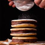 Big Soft Vanilla Bean Cookies and Chocolate-Peanut Butter Sorbet