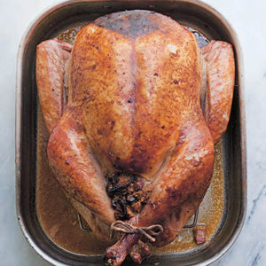 Straight Talk Thanksgiving Turkey. Excerpted from Mad Hungry Family by Lucinda Scala Quinn (Artisan Books). Copyright © 2016. Photographs by Jonathan Lovekin.